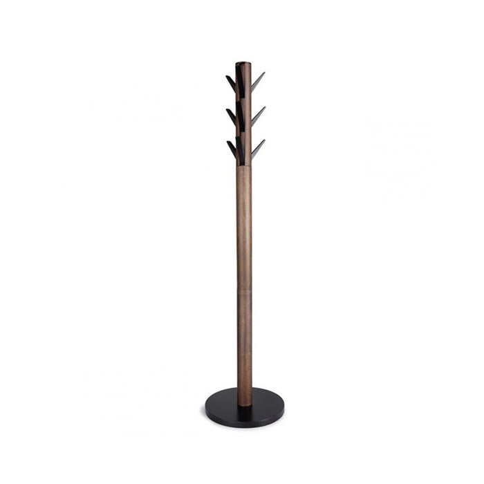 Flapper coat stand - walnut