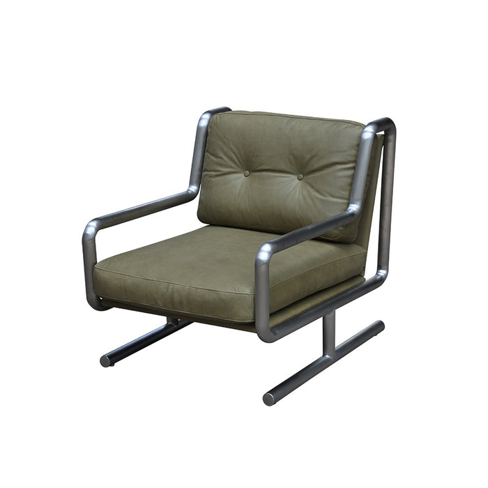 Concorde Armchair - Chalk Olive