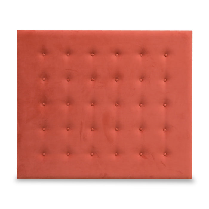 Headboard/Double - 'Plush Terracotta'