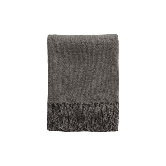 Serenade Throw - Charcoal