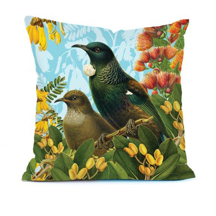 Botanical Tui cushion