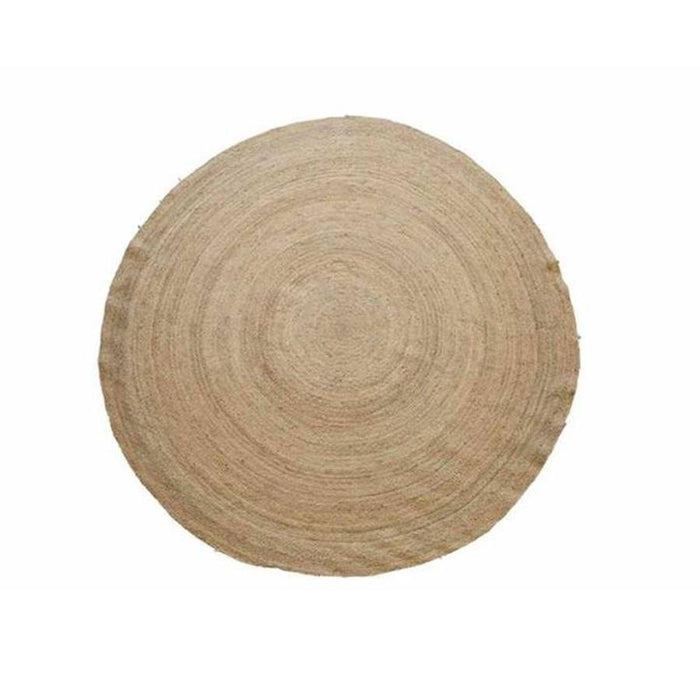Round Jute Braided Rug - Three Sizes