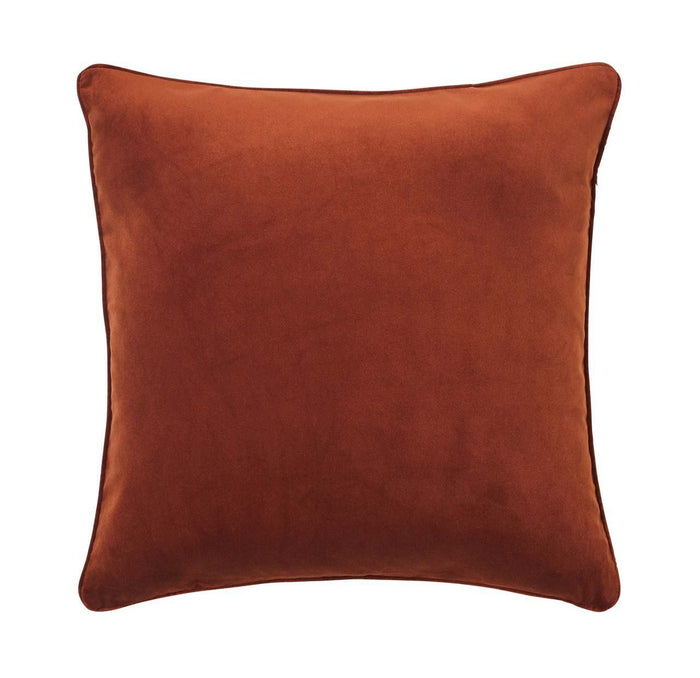 Zoe feather cushion - copper