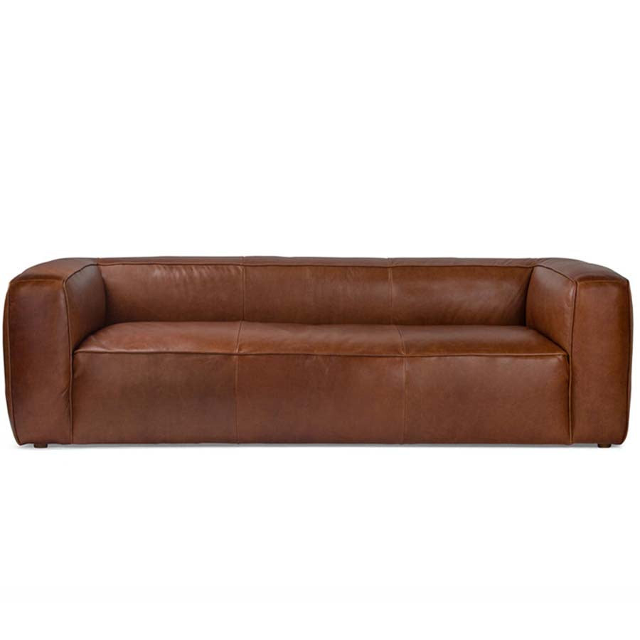 Albert leather sofa