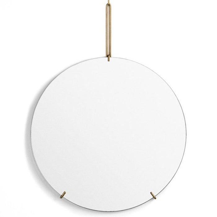 Moebe Wall Mirror - Brass - 700mm