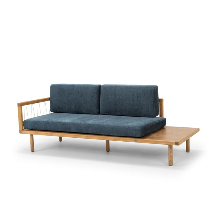 The Queen daybed - dusty blue