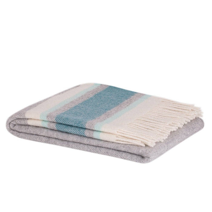 Ohope lambswool throw - dragonfly