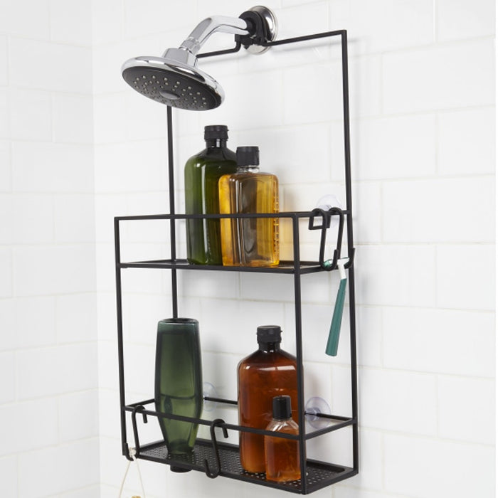 Cubiko shower caddy - black
