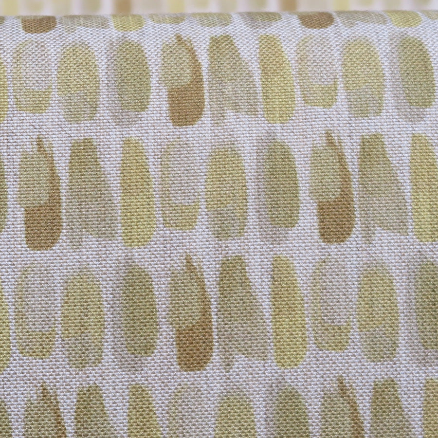 Mogambo Armchair - Brianna 'Daffodil' - fabric close up