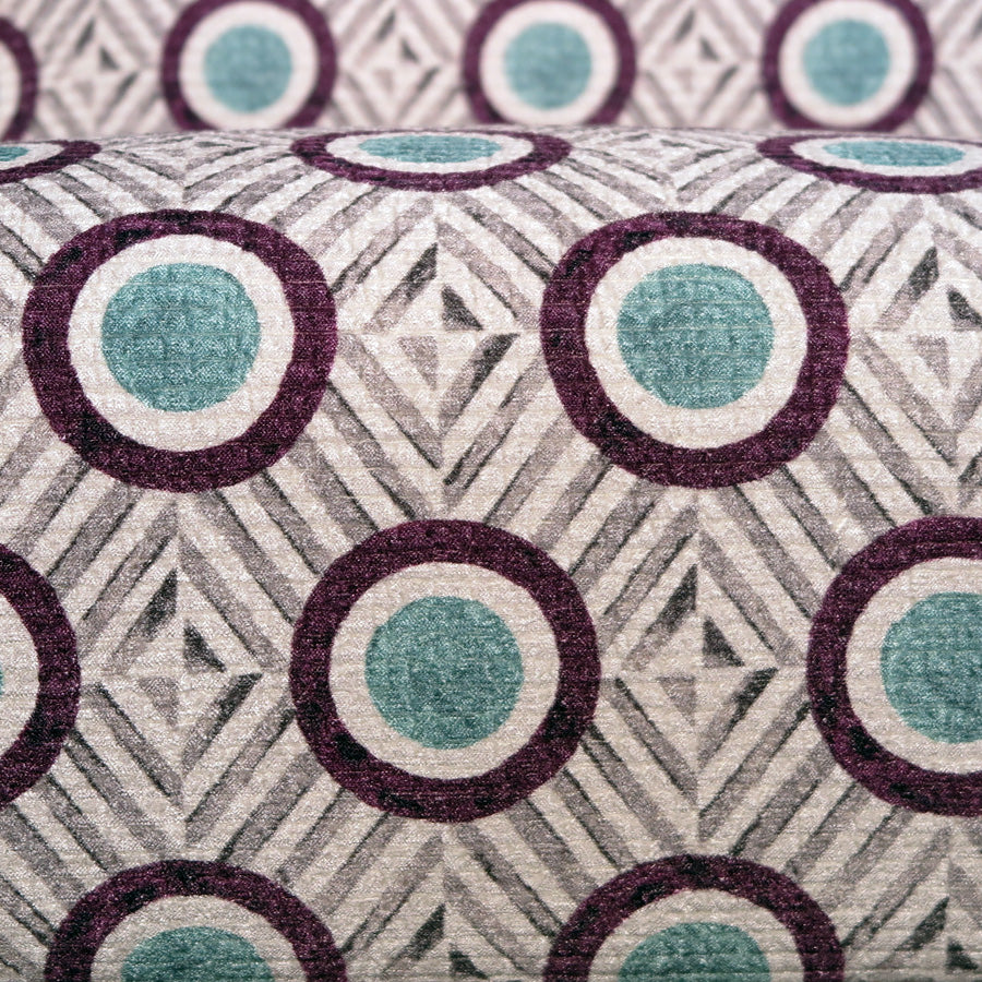 Mogambo Armchair - Sezio 'Plum' - Fabric close up