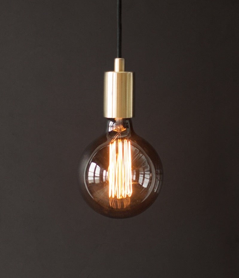 Smoked glass bulb