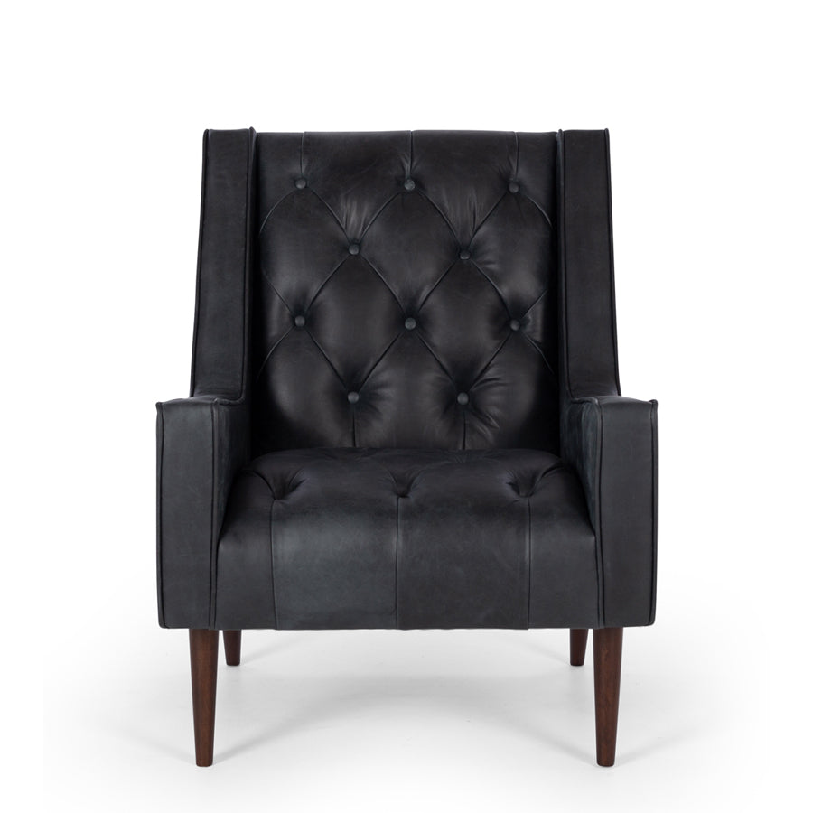 The Winston Armchair - Black