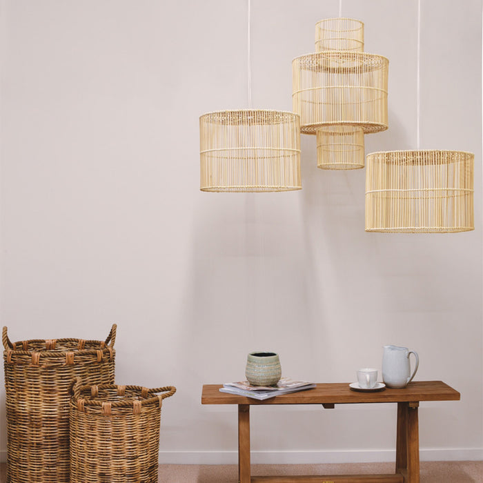 Greek Rattan Light Shade