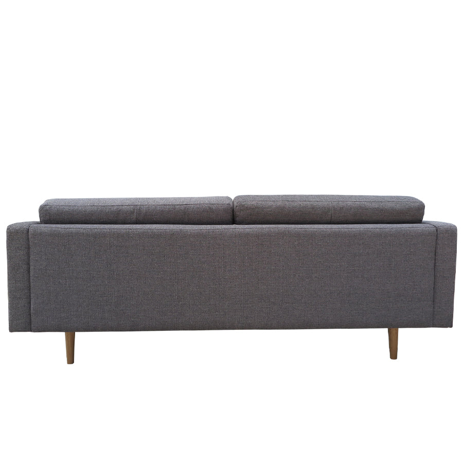 hampton 3 seat sofa dark grey