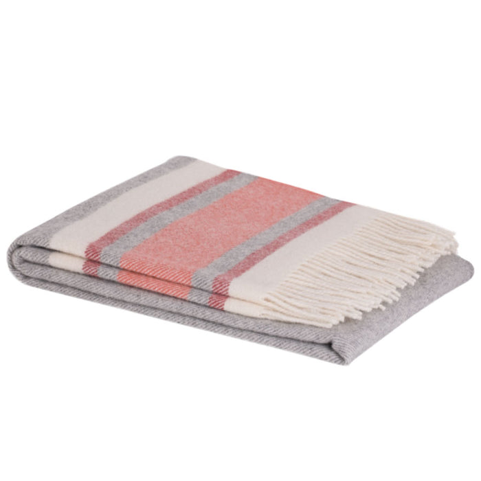 Ohope lambswool throw - jam
