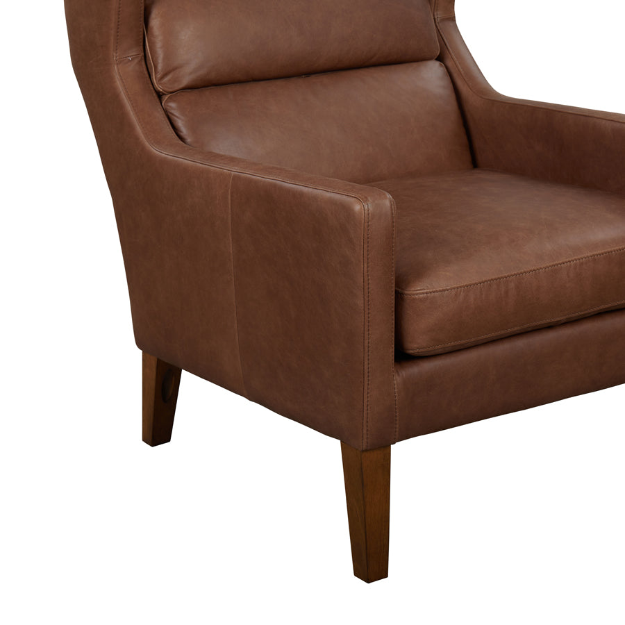 Batman Armchair - Brown Leather - middle