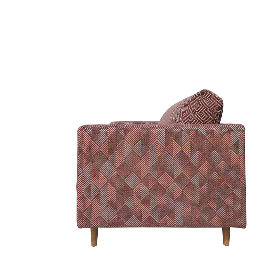 Monterey 2 seat sofa tobacco fabric