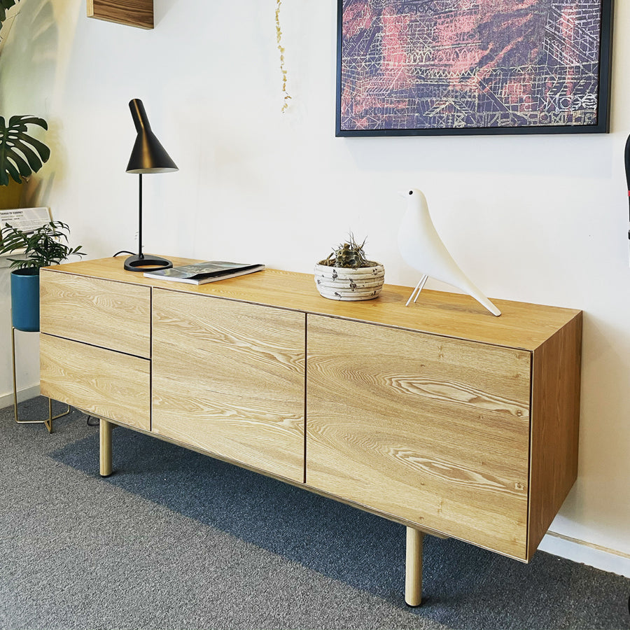 Linear Sideboard - Oak Stain