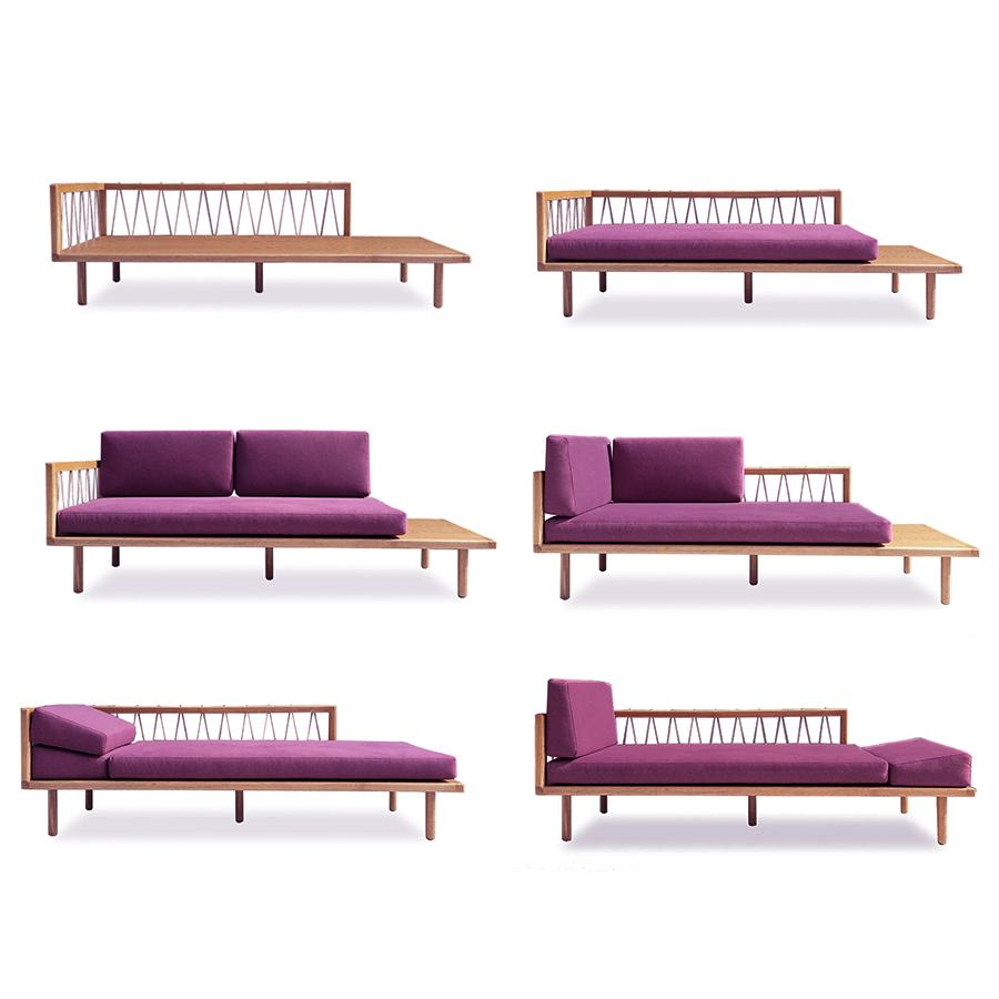 Queen daybed configurations