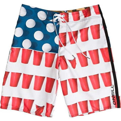 Beer Pong Surf Shorts