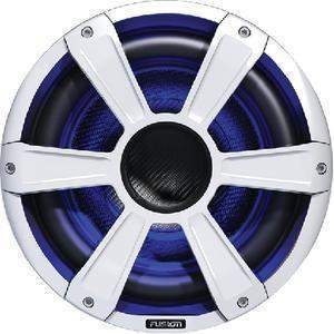 "10"" Signature Series Subwoofer With Led Lights - Subwoofer-Perf 10 Led White-Fusion Electronics-Next Day Boat Parts"