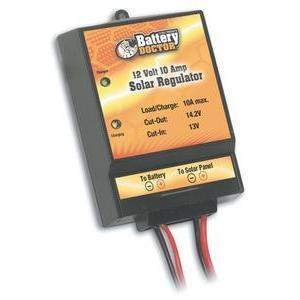 12 Volt 10 Amp Solar Regulator - Solar Controller 10A-Wirthco-Next Day Boat Parts
