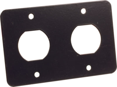 JR Products 12V/USB Mounting Plate for RV Charging Ports