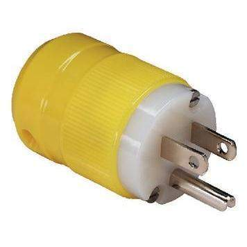 15A, 125V Plug & Connector - 15A 125V 2P 3W Sb Plug Cr-Marinco-Next Day Boat Parts