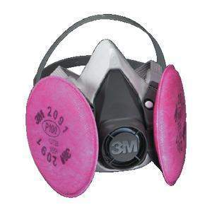 6000 Series Half Facepiece Respirator Assembly - Half Mask W/2091-3M Marine-Next Day Boat Parts