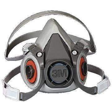 6000 Series Half Facepiece Respirator Only - 6000 Series Respirator-Medium-3M Marine-Next Day Boat Parts