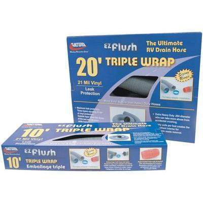 E-Z Flush Triple Wrap - 3X20 Triple Wrap Hose Boxed-Valterra-Next Day Boat Parts