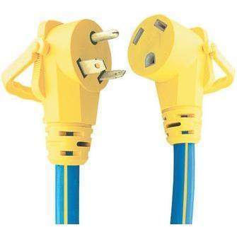 Ezeegrip Extension Cord - Ezeegrip 15' 30Amp Ext.Cord-Voltec-Next Day Boat Parts