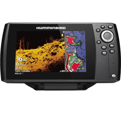 Helix 7 CHIRP MDI GPS G3, w/Xdcr-Humminbird-Next Day Boat Parts
