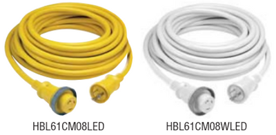 Hubbell 30A Cable Set w/ LED