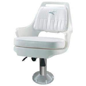 Pilot Chair With Cushions - Chair With Slide 15 Ped Cushn-Wise Seating-Next Day Boat Parts