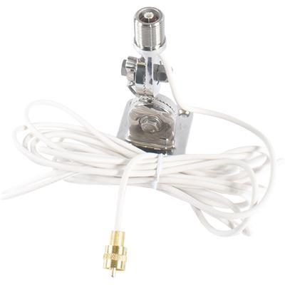 QuickConnect SS Mount w/ cable-Shakespeare Antennas-Next Day Boat Parts