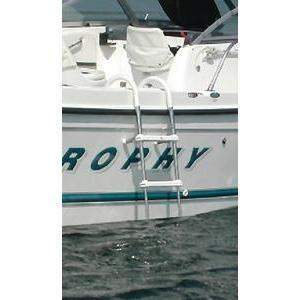 Stainless Steel Telescoping Gunwale Hook Ladder - 3 Step Gunwale Ladder-Windline-Next Day Boat Parts