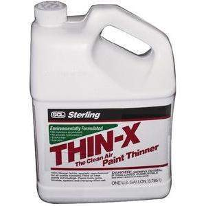 Thin-X Paint Thinner - Thin-X Red Paint Thinner Gal-Sterling-Next Day Boat Parts
