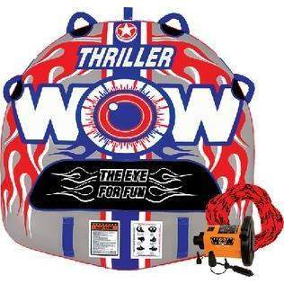 Thriller Deck Tube Starter Kit - Towable Thriller 1Person Kit-WOW Watersports-Next Day Boat Parts