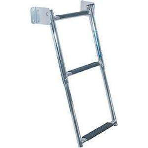 Transom Mount Ladder - Telescoping Ladder Ss 3-Step-Windline-Next Day Boat Parts