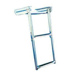 Under Platform Telescoping Slide Mount Ladder - Slide Mount Ladder 2 Step Ss-Windline-Next Day Boat Parts
