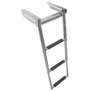 Under Platform Telescoping Slide Mount Ladder - Slide Mount Ladder Ss 3-Step-Windline-Next Day Boat Parts