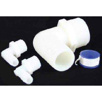 Water Tank Pipe To Hose Adapter Kit - Wtr Tank 90Deg Adaptor Kit-Todd-Next Day Boat Parts