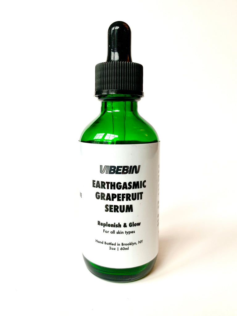 Earthgasmic Grapefruit Face Serum