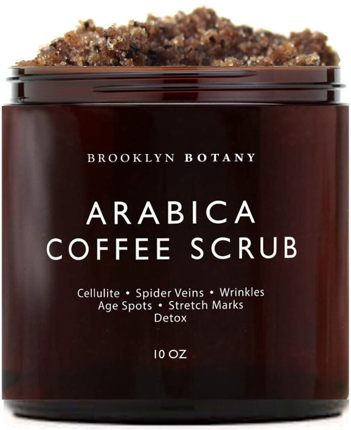 Arabica Coffee Body & Face Scrub - 10 oz