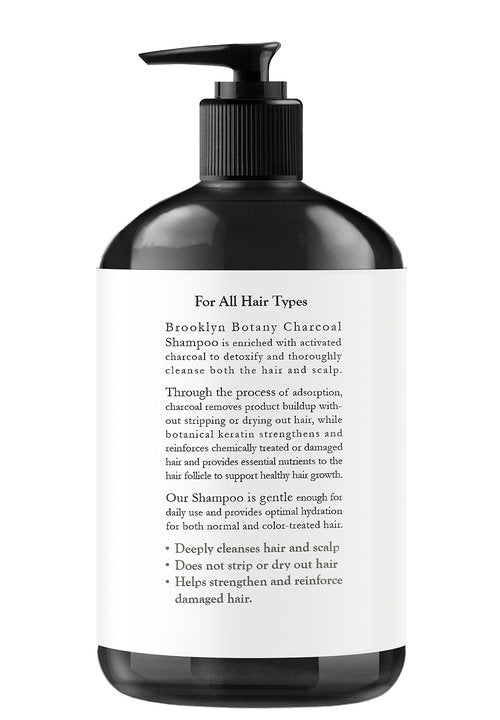 Activated Charcoal Shampoo - 16 oz