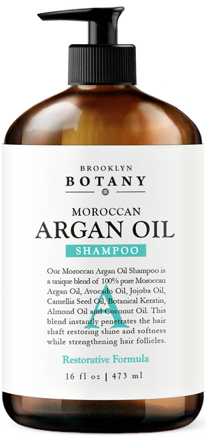Argan Oil Shampoo - 16 oz Restorative Formula
