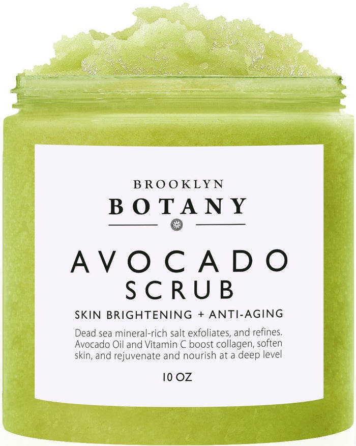 AVOCADO BODY SCRUB - 10 OZ