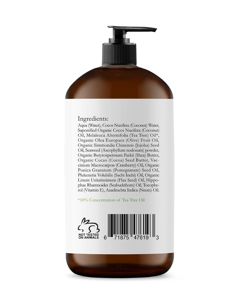 TEA TREE BODY AND FOOT WASH - 9 FL OZ