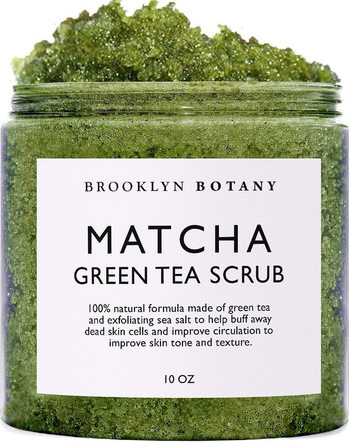 Matcha Green Tea Body Scrub - 10 oz